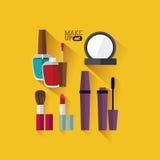 Cosmetics design Stock Photos