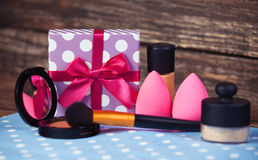 Cosmetics different Royalty Free Stock Photos