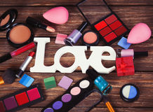 Cosmetics different Royalty Free Stock Images