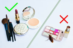 Cosmetics expired Stock Photos