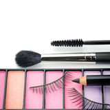 Cosmetics for eye makeup Royalty Free Stock Photo