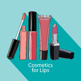 Cosmetics For Lips - Some Lip Gloss And Lipstick Stock Photo