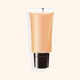 Cosmetics foundation theme elements vector,eps Royalty Free Stock Photos