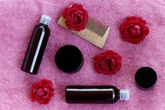 A hair care product royalty free stock images