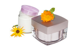 Cosmetics for herbs. Stock Photography