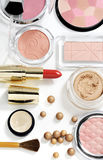 Cosmetics isolated on white Royalty Free Stock Images