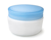 Cosmetics jar Stock Images