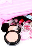 Cosmetics for make-up Royalty Free Stock Photos