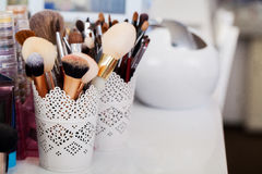 Cosmetics. Make-up, Beauty and Freshness Concept. Stock Images