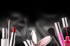 Cosmetics. Make-up, Beauty and Freshness Concept. Stock Photo
