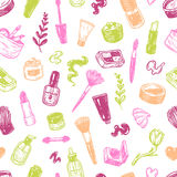 Cosmetics and make-up. Royalty Free Stock Images