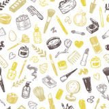 Cosmetics and make-up. Pattern. Stock Photography