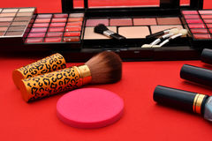 Cosmetics make up women Royalty Free Stock Photography
