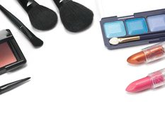 Cosmetics for makeup Stock Photo