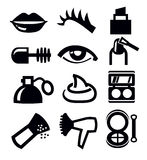 Cosmetics and makeup icon Royalty Free Stock Image