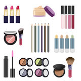 Cosmetics and makeup Stock Photography