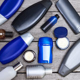 Cosmetics for men Stock Photos