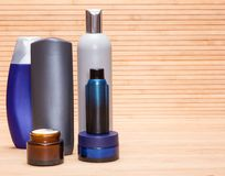 Cosmetics for men Royalty Free Stock Photos