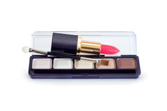 Cosmetics On White Royalty Free Stock Photography