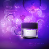 Cosmetics package design. Royalty Free Stock Photos