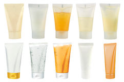 Cosmetics packs � tubes Stock Photography