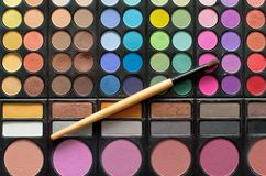 Cosmetics  palette Royalty Free Stock Images