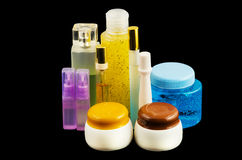 Cosmetics and perfume Royalty Free Stock Photography