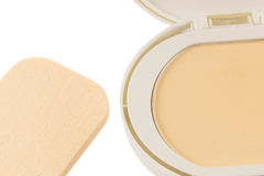 Cosmetics Powder compact Stock Photo
