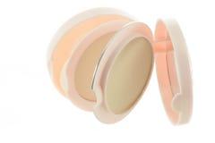 Cosmetics Powder compact Royalty Free Stock Photo
