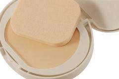 Cosmetics Powder compact Stock Photo
