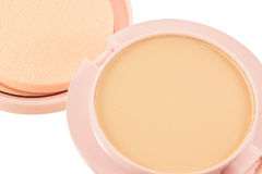 Cosmetics Powder compact Royalty Free Stock Image
