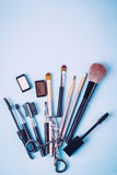 Cosmetics Products for Eyes Royalty Free Stock Photography