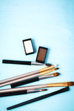 Cosmetics Products for Eyes Royalty Free Stock Images