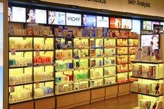 Cosmetics productsstore Stock Image