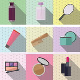 Cosmetics and products for women. 's beauty Stock Image