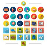 Cosmetics, salon, attributes and other web icon in cartoon style.Postcard, pigeon, seal, icons in set collection. Cosmetics, salon, attributes and other  icon Royalty Free Stock Photography