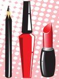 Cosmetics set Royalty Free Stock Photos