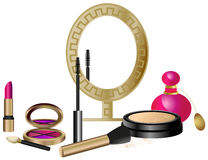 Cosmetics Set vector illustration