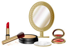Cosmetics Set Royalty Free Stock Photo