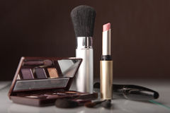Cosmetics set Stock Images