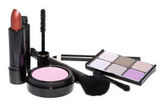 Cosmetics set royalty free stock images
