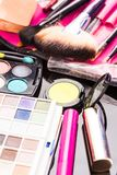 Cosmetics set close up Stock Photos