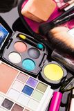 Cosmetics set close up Royalty Free Stock Photos