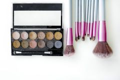 Cosmetics set Stock Image