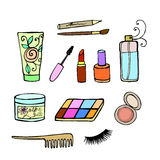Cosmetics set Stock Photo