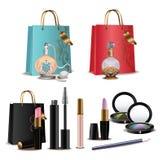 Cosmetics Set Stock Photos