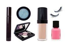Cosmetics Set Isolated On White Background Stock Images