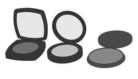 Cosmetics (shades) Stock Image