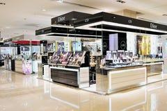 Cosmetics shop. CD modern cosmetics shop in wuxi YAOHAN shopping plaza, YAOHAN is a high-end, luxury shopping plaza, many famous international brands going in