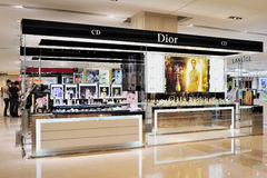 Cosmetics shop Royalty Free Stock Photography